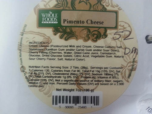 RECALLED – Pimiento Cheese