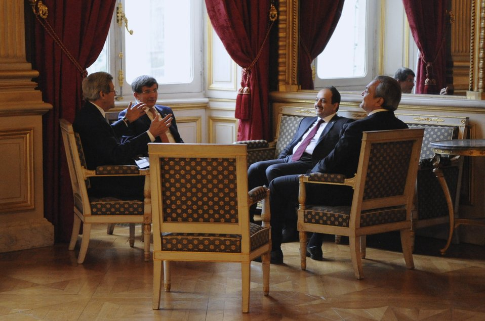 Secretary Kerry Meets Turkish, Qatari, Saudi Foreign Ministers