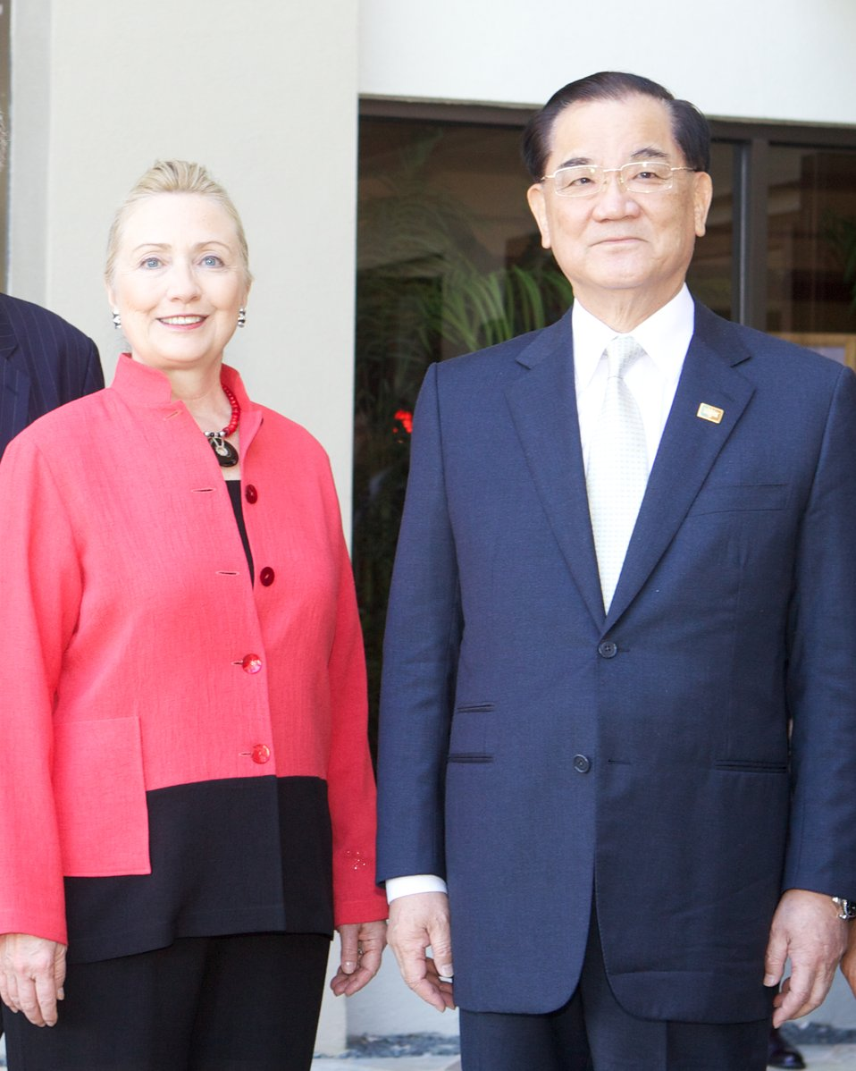 Secretary Clinton Meets With Leader's Representative of Chinese Taipai
