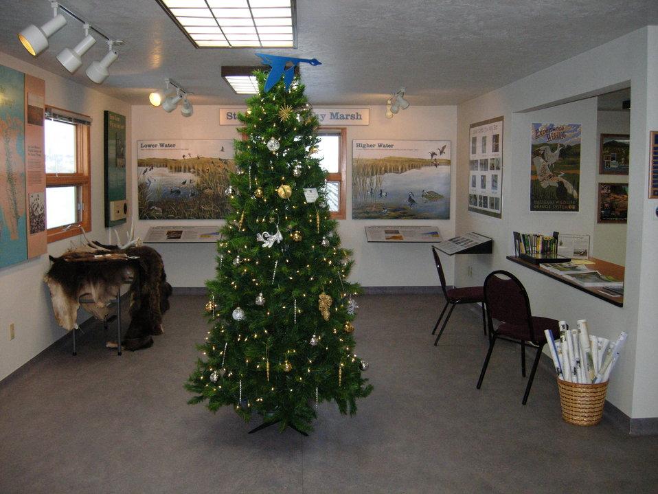 Des Lacs National Wildlife Refuge 'Blue Goose' Tree