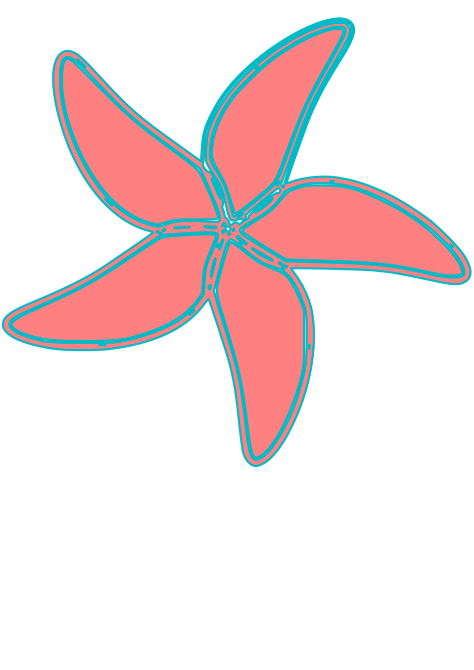 very simple starfish