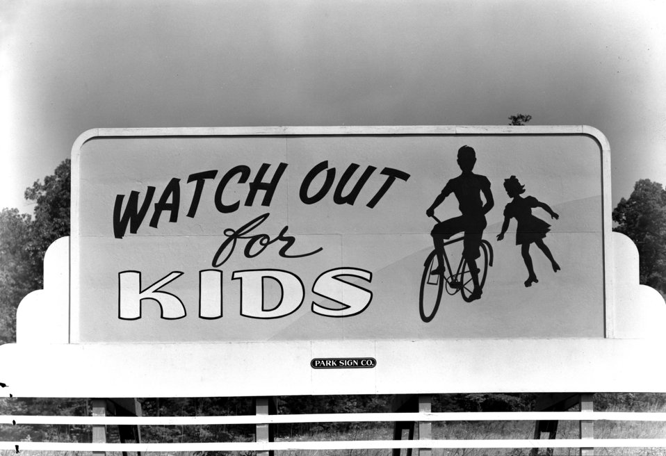 Saftey Billboard Oak Ridge 1948