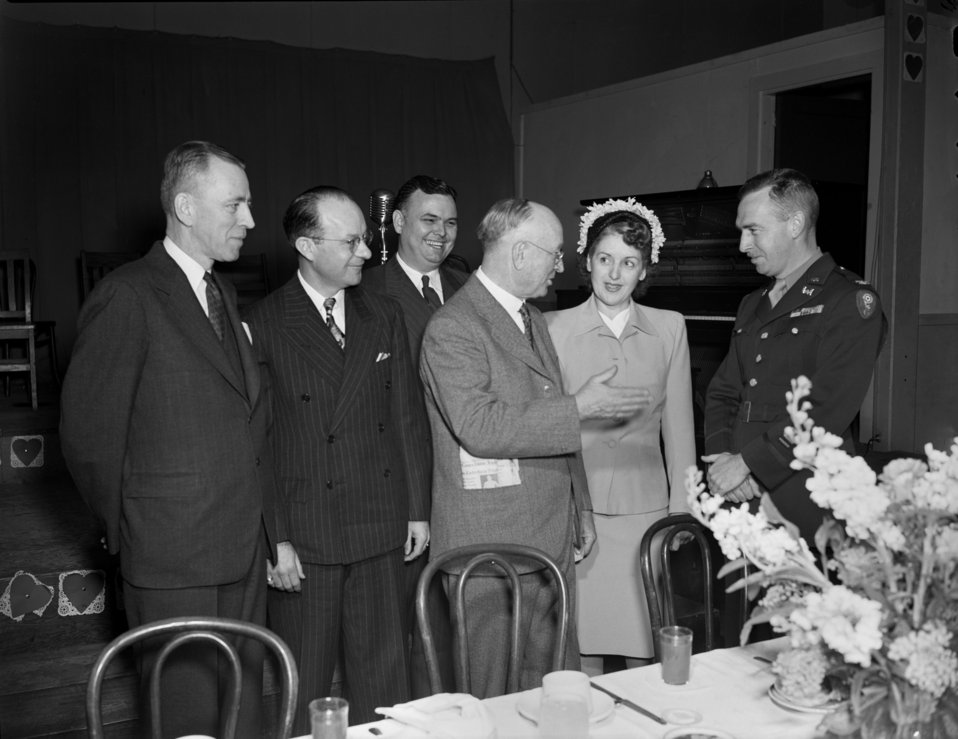 Republican meeting Oak Ridge 1947