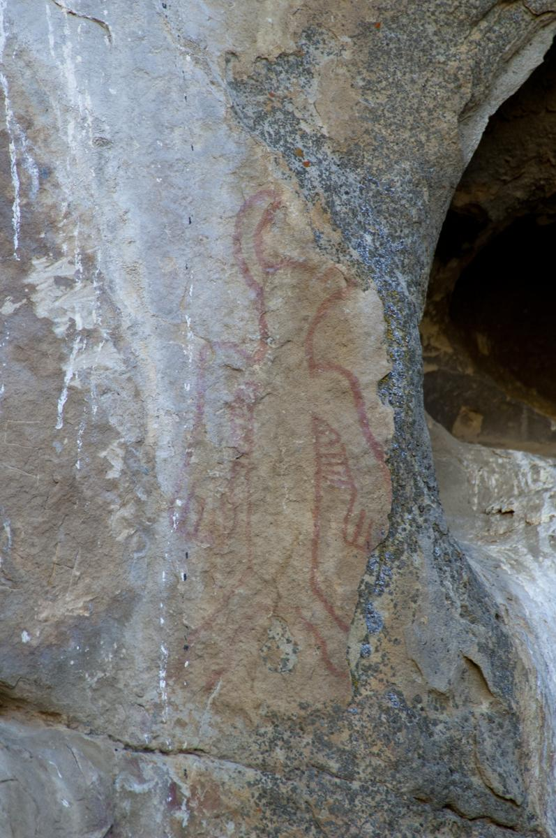 Pictograph at Painted Rock, Carrizo Plain 6