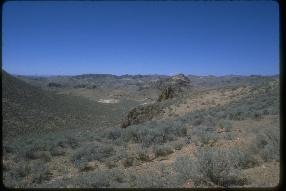 The Honey Combs viewed from Leslie Gulch.