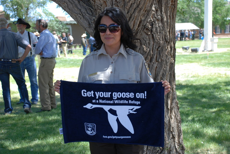Leeann Duran Gets Her Goose On!