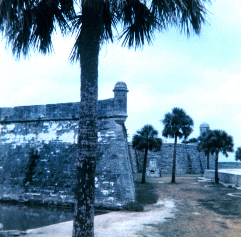 The old Spanish fort at St. Augustine, America's oldest city.