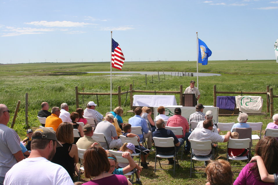 2013 Green Wing Dedication