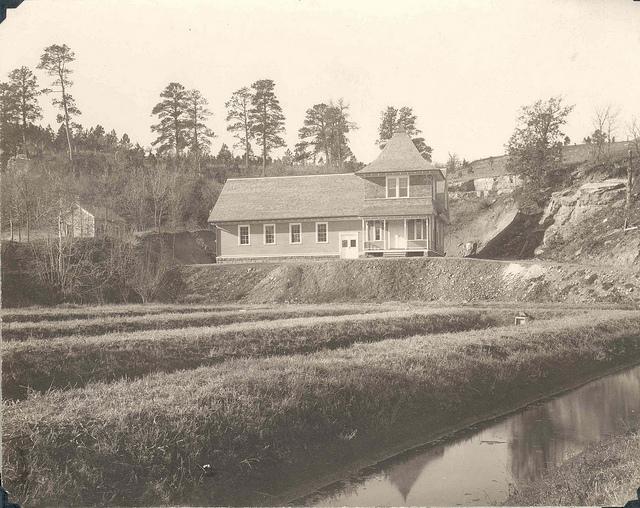 D.C. Booth hatchery building in 1899