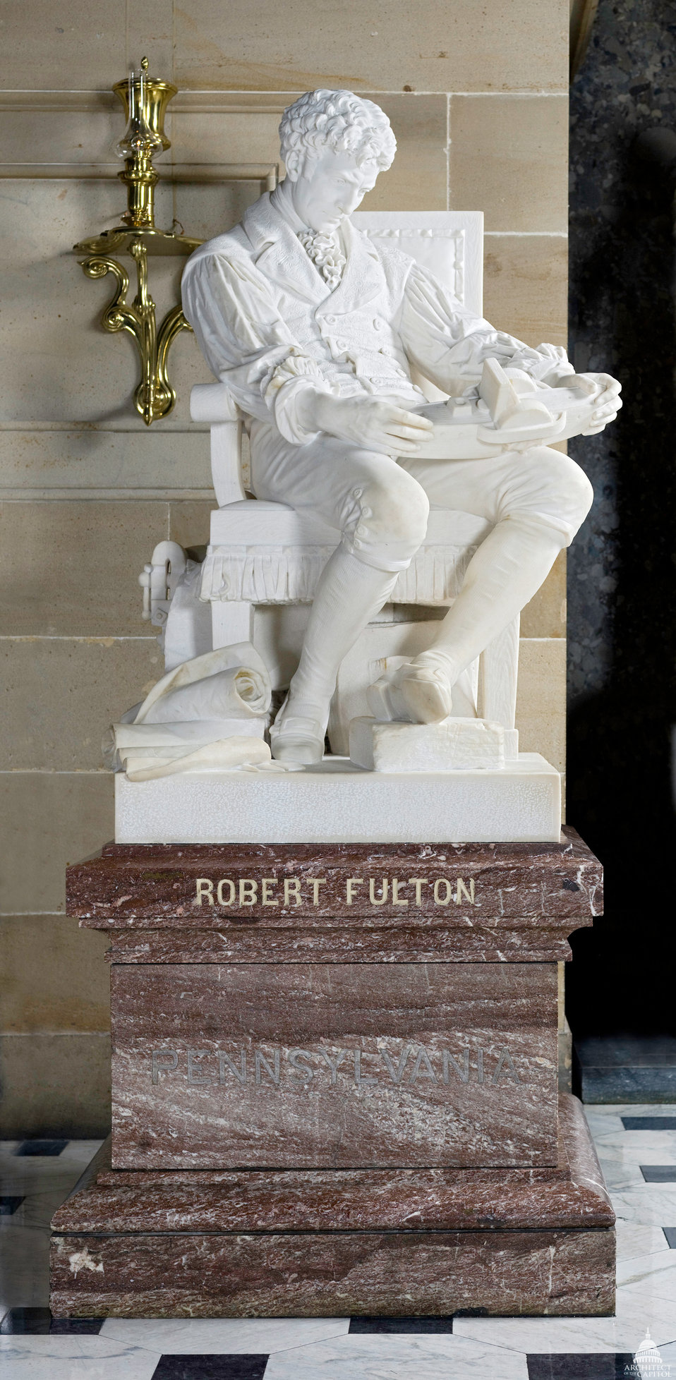 Robert Fulton Statue
