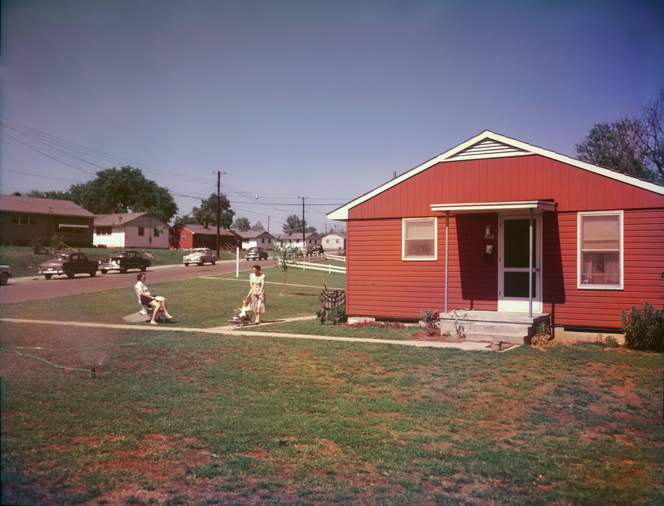 Oak Ridge  neighborhood  1950s