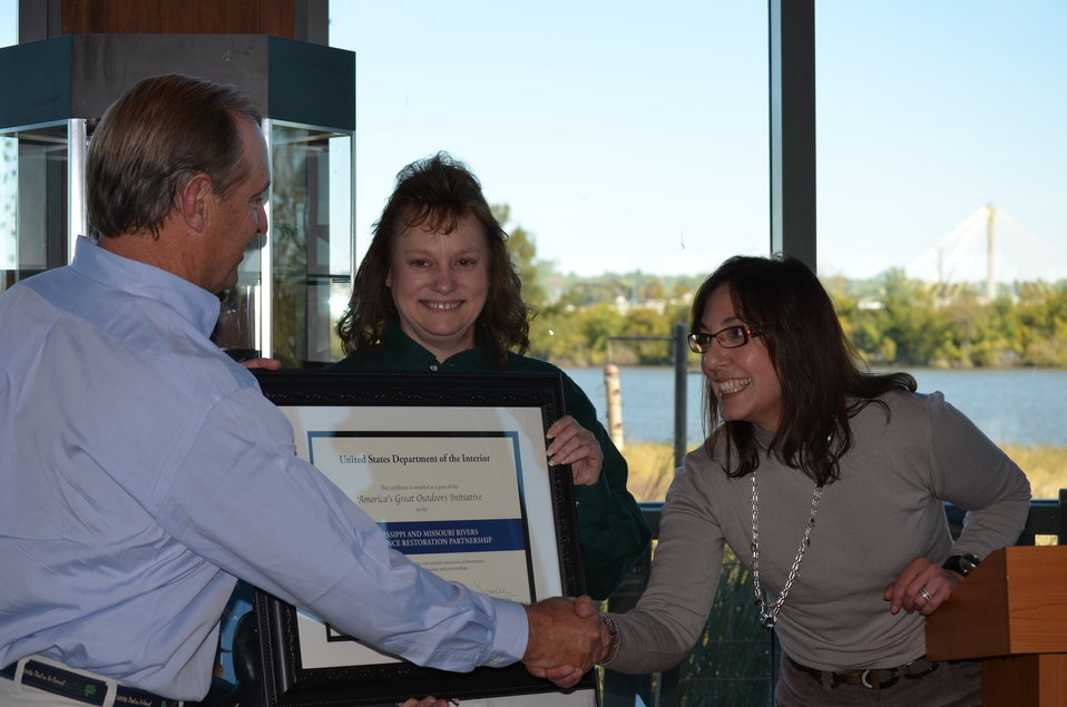 Great Rivers Habitat Alliance honored