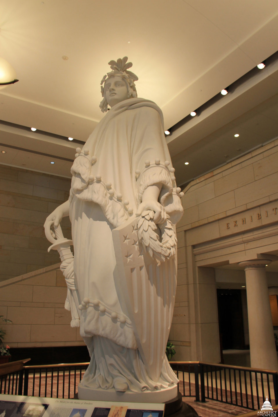 Statue of Freedom Plaster Model