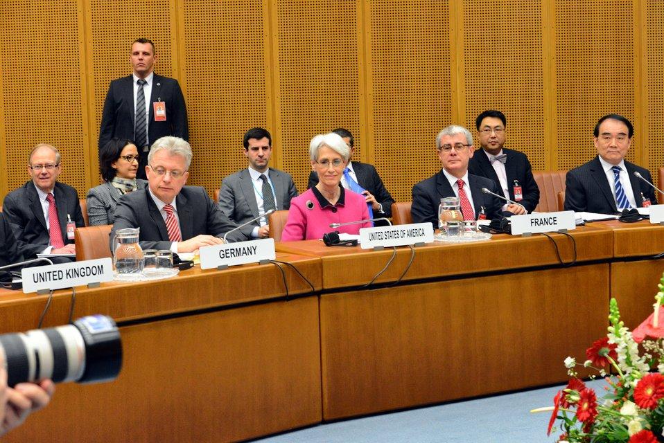 Under Secretary Sherman Leads the U.S. Delegation at Iran Talks in Vienna