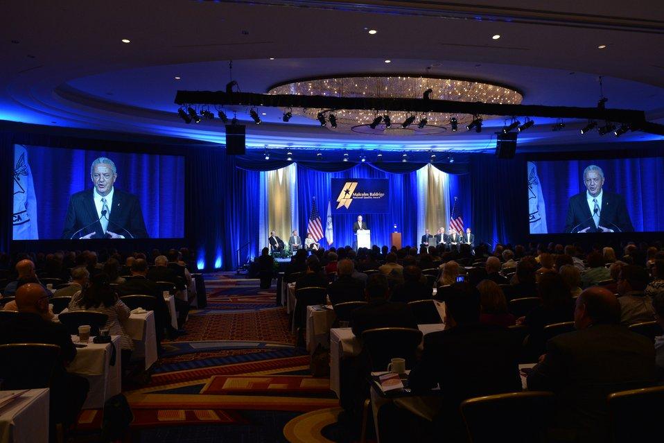 2012 Baldrige Ceremony James F. Berry LMFC Speaking
