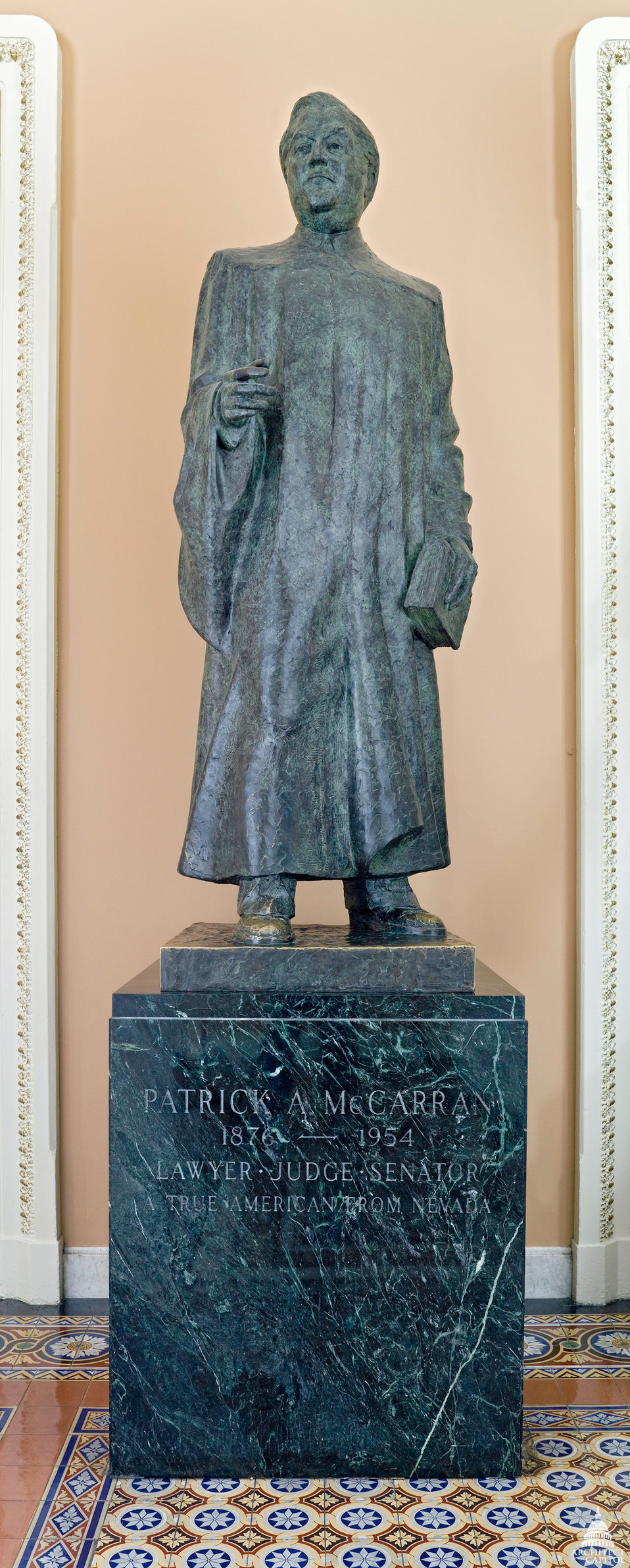 Patrick Anthony McCarran Statue