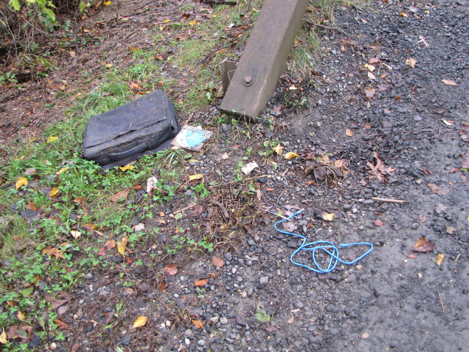 Debris brought in by Hurricane Sandy (NY)
