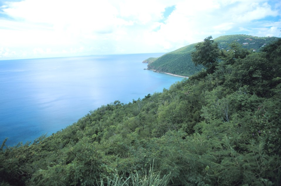 Westend Road overlook of Fortuna Bay
