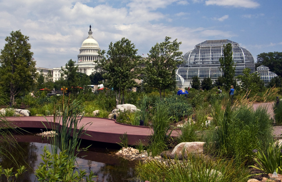 The U.S. Capitol and U.S. Botanic Garden