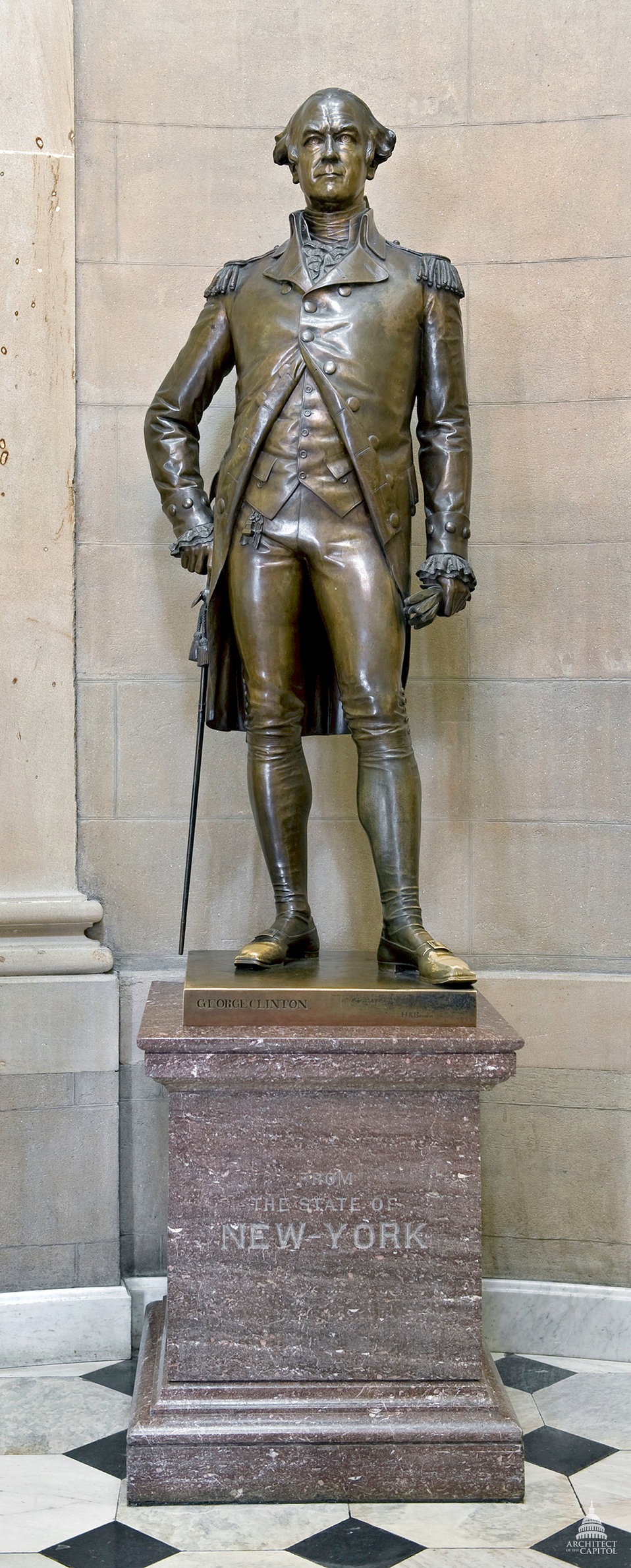 George Clinton Statue