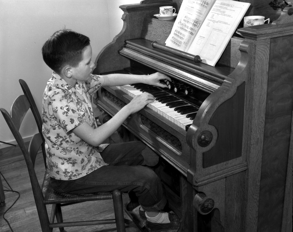 Boy at the Organ