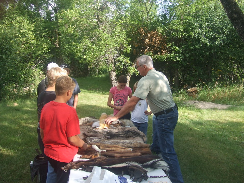 2011 Greenwing Day - Trapping session