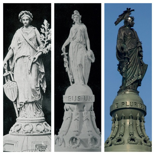 Statue of Freedom's evolving design