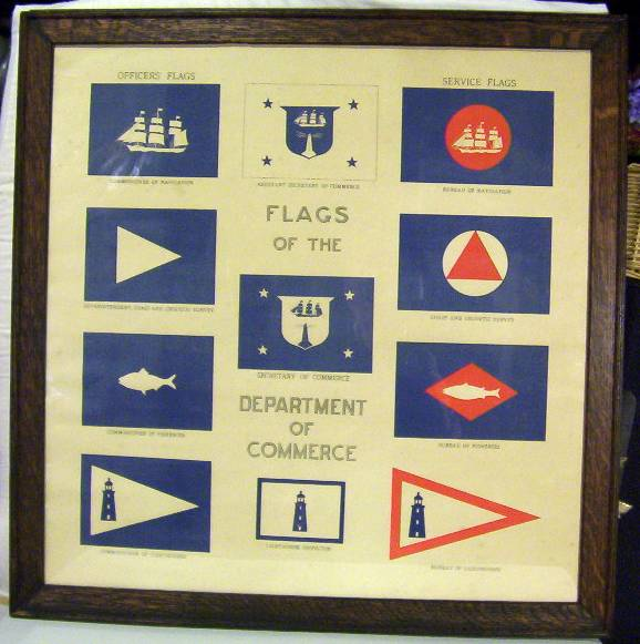 Dept of Commerce Flags