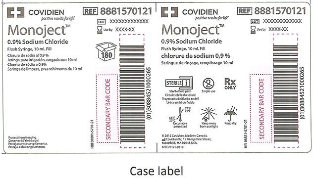 RECALLED – Monoject Prefill Flush Syringes