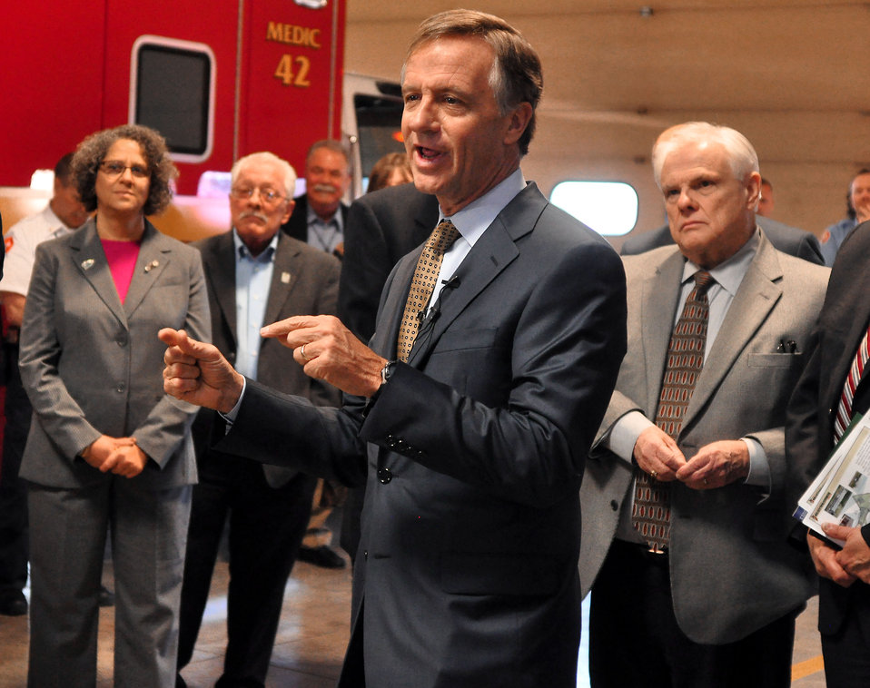 Gov. Bill Haslam Visit to ETTP 2014 Oak Ridge