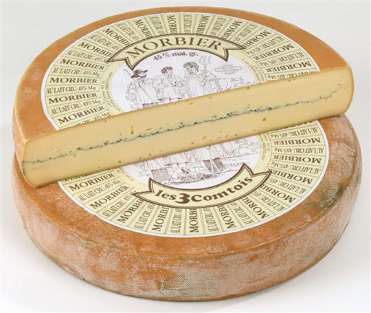 RECALLED – Trois Comtois Morbier cheese