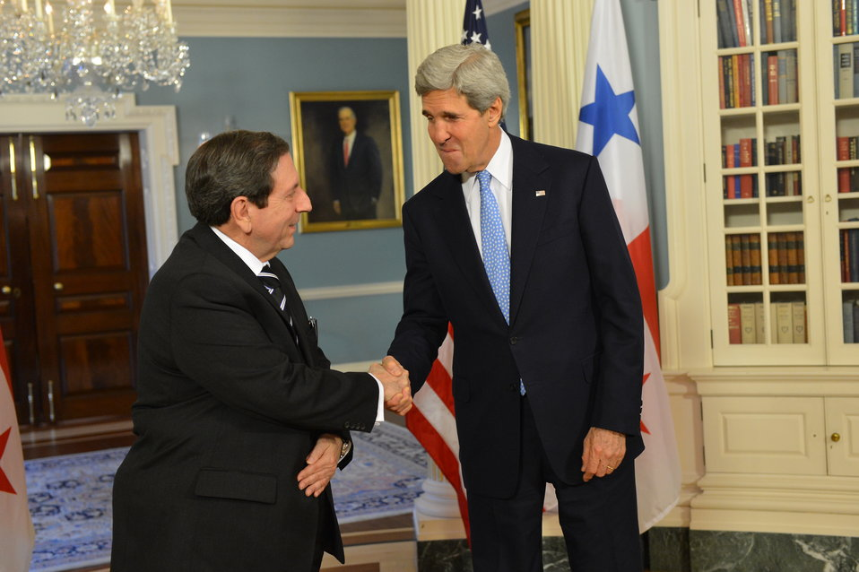 Secretary Kerry Meets With Panamanian Foreign Minister Fabrega
