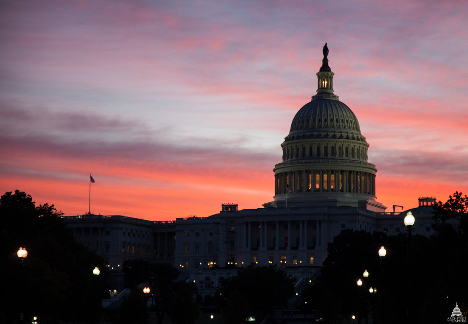 The Capitol at Dawn