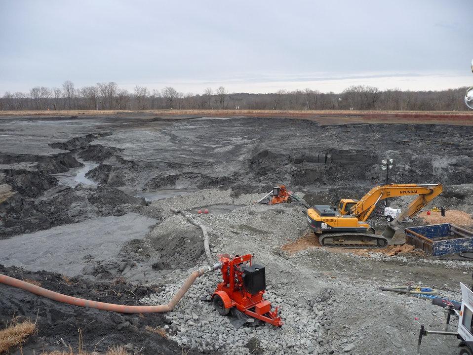 Ash Basin Upper Stormwater Drain