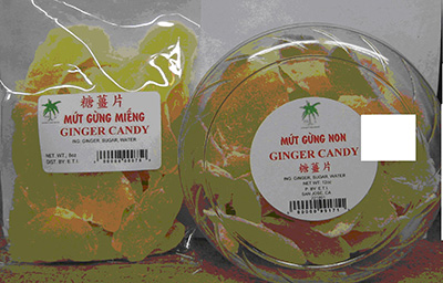 RECALLED – Ginger Candy
