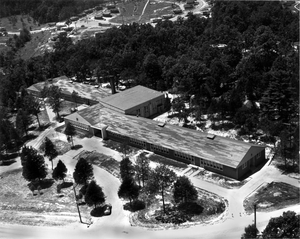 Glenwood  Elementary School Oak Ridge 1945