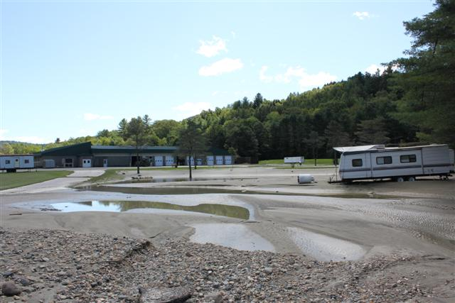 White River National Fish Hatchery after Irene