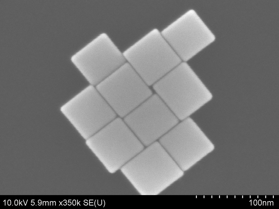 Nanocubes