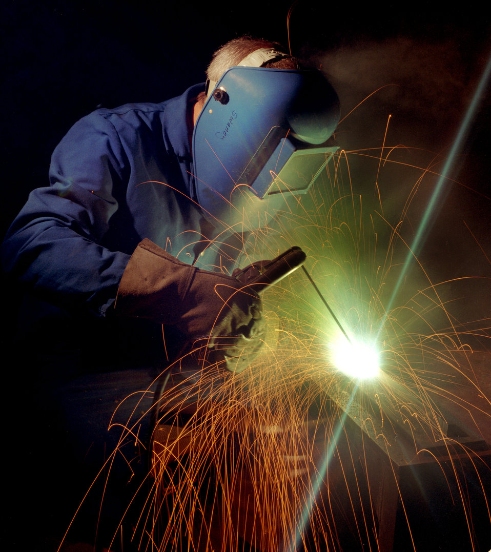 Welding at Oak Ridge National Lab