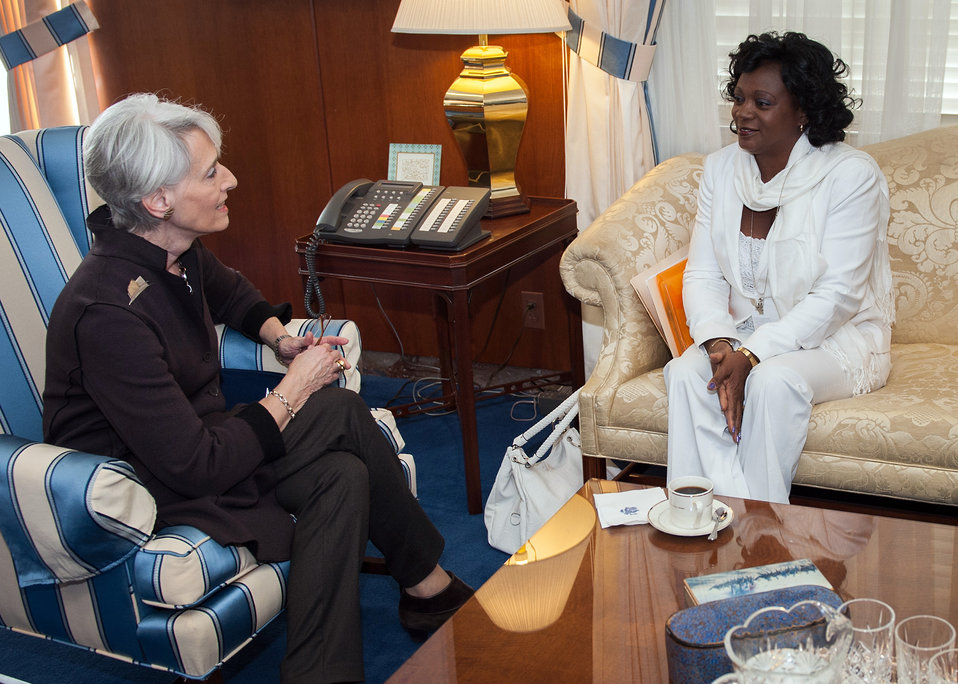 Under Secretary Sherman Meets With Berta Soler of the Ladies in White