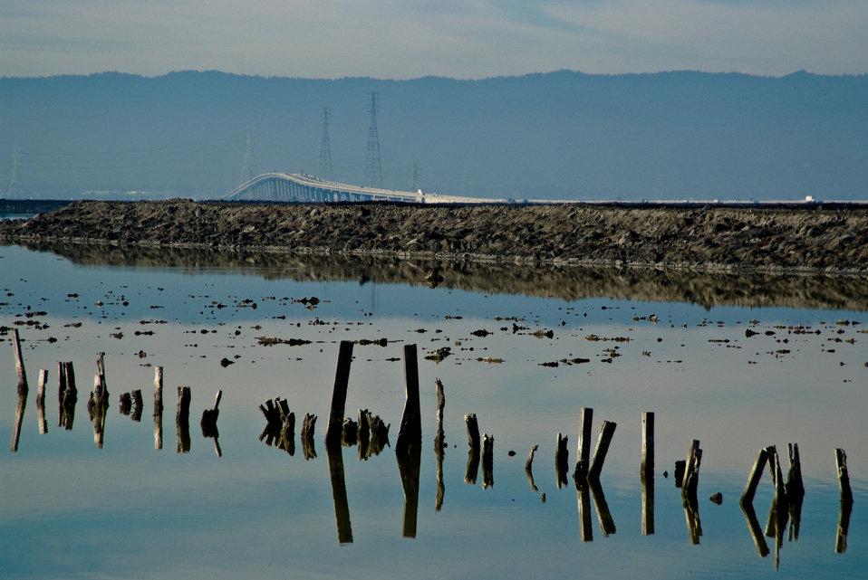 Water view at Don Edwards San Francisco Bay National Wildlife Refuge