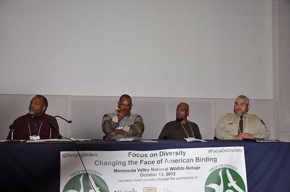 Birding Diversity Panelists