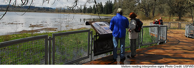 Interpretive signs - Tualatin River NWR