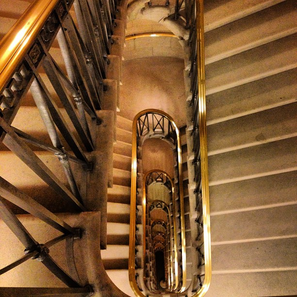 Longworth House Office Building Stairs