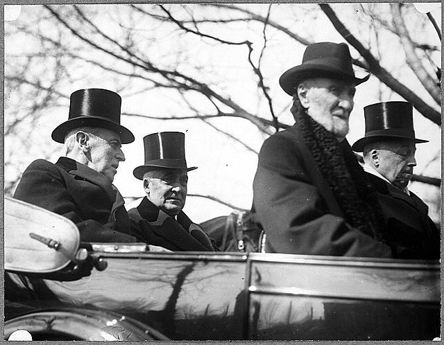 Philander C. Knox, U.S. Secretary of State at Warren Harding's inauguration.