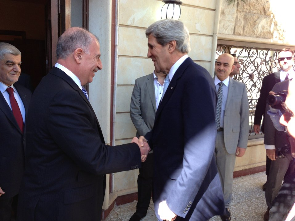 Secretary Kerry Meets Iraqi Council Speaker al-Nujayfi
