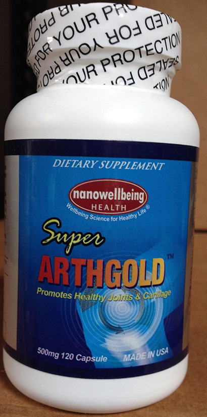 RECALLED – Dietary Supplement - Super Arthgold