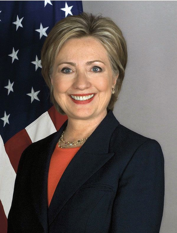 Official Portrait of U.S. Secretary of State Hillary Rodham Clinton