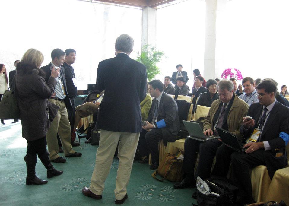 Press at Diaoyutai State Guesthouse