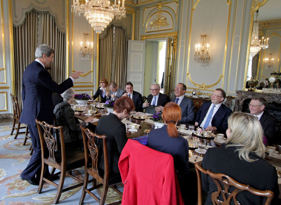 Secretary Kerry Meets With Russian Foreign Minister Lavrov